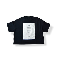 "【 UNIONINI 21SS 】 ""WORD"" tee  "" Tシャツ ""  / black"