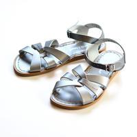 """【 Saltwater Sandals 19SS】 海でも履けるレザーサンダル  / ソルトウォーターサンダル """"Original""""  Premium / ピューター / 22.5 - 25cm"""