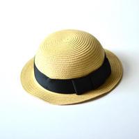"【 Chocolatesoup 20SS 】PAPER BRAID BOWLER HAT "" ボウラーハット "" / BLACK"