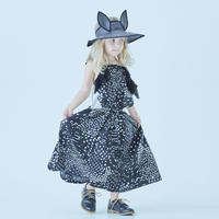"【 eLfinFolk 21SS 】QiLin pinafore dress(elf-211F09)""ワンピース"" / black / 110-130"