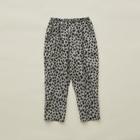【 eLfinFolk 2020SS 】elf-201F18 leopard pants / gray / 110-130cm