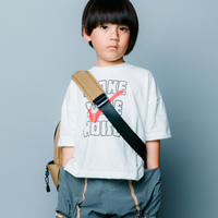 【 nunuforme 2020SS 】ノイズプリントT [nf13-965-510]  / White