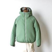 "【 MOUN TEN. 20AW 】air mitten blouson  [MT202036]  ""コート"" / ashgreen  / 0(150-160)"