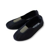 【 La Cadena 20AW 】 GIMNASIA   PANEL COLOR SLIP ON / BLACK × OLIVE / 17〜21cm