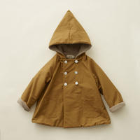 "【 eLfinFolk 20AW 】elf coat(elf-202F47)""コート"" / camel / size 90-100"