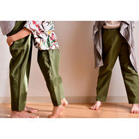 "【 WONDER FULL LIFE 20SS 】 STANDARD PANTS ""ピーカブーヤ別注カラー"" /  KIDS  L(130-140)"