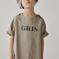 "【 GRIS 2020SS 】GR20SS-SH003B ""Pullover Big Shirts"" / Grege / XS-S"