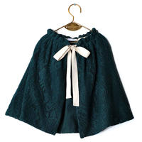 【 WOLF&RITA 2018AW 】 HELENA - Skirt / GREEN LACE