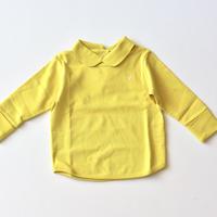 """【 ミナペルホネン 21AW 】ZA8149P yui """"ロンT"""" / yellow / 90-100cm"""
