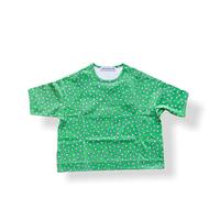 """【 ミナペルホネン 21SS 】ZS8108P ensoku """" Tシャツ""""  / green / 110-140cm"""