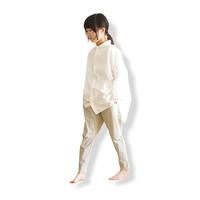 "【 MOUN TEN. 21SS 】ice stretch slimpants ""パンツ"" / ピーカブーヤ限定カラー ""sand beige"" / 0(150-160)"