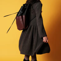 【Wolf&Rita 2017AW】CARLA - Bag / BLACK /BORDEAUX PU