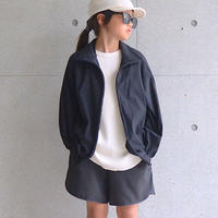 【 MOUN TEN. 2020SS 】ice stretch track jacket [MT201038-a] / black