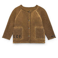 【 Little Creative Factory 2018AW】Baby Stretchy Jacket / RUSTY