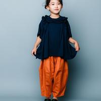 【 nunuforme 2020SS 】オックスポインテッドパンツ [ns-621-005A] / Orange  / F(レディース)
