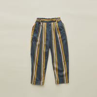 【 eLfinFolk 2020SS 】elf-201F35 regimen stripe pants / blue