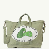 【 THE ANIMALS OBSERVATORY 2019SS 】BIG CANVAS TOTE ONESIZE BAG / sage green