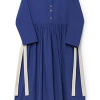 【 Little Creative Factory 2018AW】 Horizon Dress / BLUE