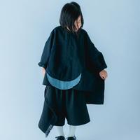 【 nunuforme 21SS 】サークルパッチシャツ [30-nf15-569-015A] / Black / 155 - 大人