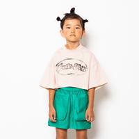 """【 folk made 21SS 】pocket short pants """" ショートパンツ """" / green / LL(140-155)"""