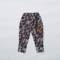 "【 eLfinFolk 21SS 】Leaf paisley pants(elf-211F26)""パンツ"" /  burgundy / 100-130"