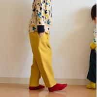 """【 ミナペルホネン 21AW 】ZA4099P bonbon """"パンツ"""" / mustard / 110-140cm"""