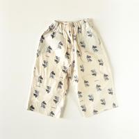 "【 UNIONINI 2020AW 】PT-074-1 teddybear long pants "" パンツ ""  / kinari / 2 - 12歳"