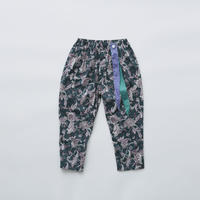 "【 eLfinFolk 21SS 】Leaf paisley pants(elf-211F26)""パンツ"" / green / 100-130"