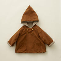 "【 eLfinFolk 20AW 】elf coat(elf-202F47)""コート"" / brown  / size 110-130"