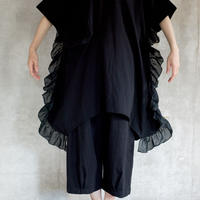【 UNIONINI 2019SS 】OP-055 ◯△ dress /  / Navy  / 10 -12歳