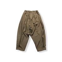 【 nunuforme 21AW 】ドレープタックパンツ / 29-nf16-644-013 / Brown