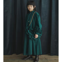 "【ノベルティバッグ付き】【 GRIS 2020AW】GR20AW-DR001A  Dreaming Dress ""ワンピース"" / Forest / M-L"