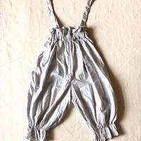 【 folk made 2019SS】No.22 long pants with suspenders / グレー /  大人サイズ