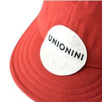 "【 UNIONINI 2021SS 】AC-051 baseball cap "" キャップ ""  / red"