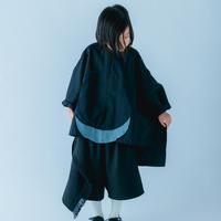 【 nunuforme 21SS 】サークルパッチシャツ [30-nf15-569-015] / Black