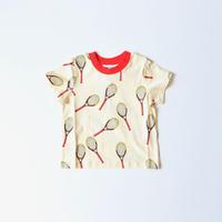 """【 mini rodini 2020SS 】Tennis aop ss tee(20220135) """"Tシャツ"""""""
