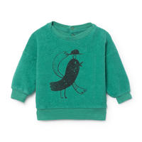 【 Bobo Choses 2018AW 】 218192 Bird Ship Skin Fleece Sweatshirt