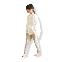 "【 MOUN TEN. 21SS 】ice stretch slimpants ""パンツ"" / ピーカブーヤ限定カラー ""sand beige"" / 1(Ladies F  )"