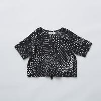 """【 eLfinFolk 21SS 】QiLin T shirts(elf-211F04)""""Tシャツ"""" / black / 90-130"""