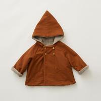 """【 eLfinFolk 21AW 】 elf coat(elf-212F43) """"コート""""  / brown / 90-100cm"""