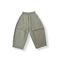 "【 GRIS 21SS 】""cotton Satin"" Hem Darts Trousers [GR21SS-PT003B] ""パンツ"" / Greige / S-L"