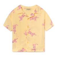 【 Bobo Choses 2019SS 】119047 Dogs Hawaiana Shirt