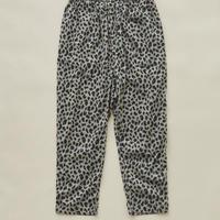 【 eLfinFolk 2020SS 】elf-201F55 leopard pants / gray / 大人