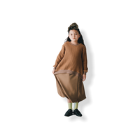 【 nunuforme 21AW 】サークルパンツ / 06-nf16-646-014 / Beige