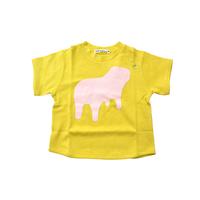 """【 ミナペルホネン 21SS 】ZS8131P liquide """" Tシャツ""""  / yellow / 110-140cm"""