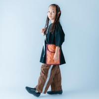 【 nunuforme 21SS 】サイドテープストレートパンツ [08-nf15-635-119] / Brown / キッズ