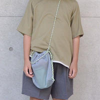 """【 MOUN TEN. 2020SS 】mesh pochette [MT201039]  """"ポシェット"""" / gray"""