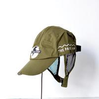 【 THE PARK SHOP 】TPS-182 MESSENGERBOY LIGHT CAP / OLIVE