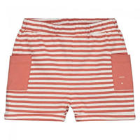 "【 GRAY LABEL 2020SS】Relaxed Pocket Shorts  ""ショートパンツ"" / Faded Red/Off White Stripe / 90-130cm"