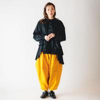 【 nunuforme 2020AW 】オックスポインテッドパンツ [ns-621-005A] / Mustard / 155-大人